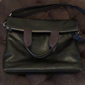 Coach Pebbled Commuter Bag